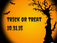 Trick or TreatSaturday, Oct. 31